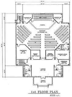 Simple church building plans church plan 120 lth steel church plan 149 lth steel structures malvernweather Gallery