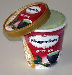 Haagen Dazs Green Tea ice cream