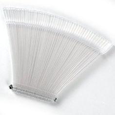 50x Clear False Nail Art Tips Sticks Polish Display Fan For Practice Salon from Fraulein 38 - Pedicure N Manicure - £1.99 - http://www.pedicurenmanicure.com/50x-clear-false-nail-art-tips-sticks-polish-display-fan-for-practice-salon/