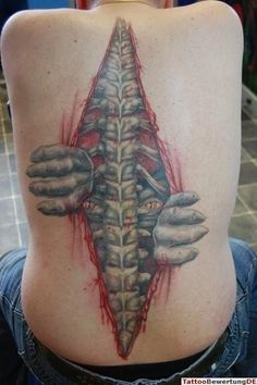 If I didn't already have a full back tat I'd love to have this one.