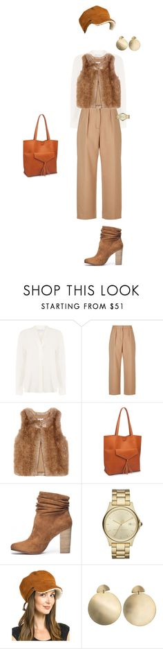 """""""Без названия #26"""" by liza-bystrova on Polyvore featuring Warehouse, Maje, Moda Luxe, Chinese Laundry, Marc Jacobs, FRR and Zimmermann"""