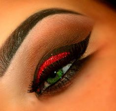 Chocolate' Covered Strawberries Eye Makeup