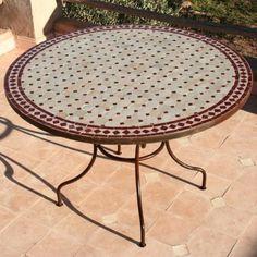 Marokkaanse mozaïek tafel