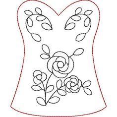 Rose Shape Q Corset Shape Small #CC871071