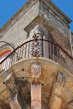 Particolare del centro storico di Ruffano