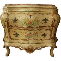 ITALIAN PAINTED COMMODE
