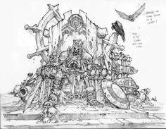 Dungeon Runner concept art