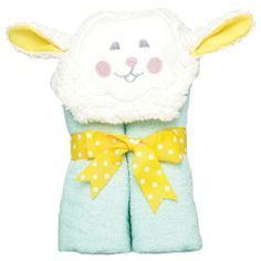 Made from a full size towel our tubbies fit a wide range of age am pm kids tubby towel lamb am pm kidshttp easter babyeaster gifttoddler negle Gallery