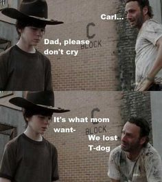 What Rick was really crying about...