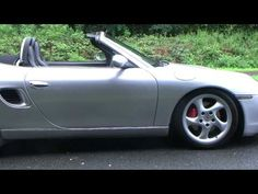 02 02 Porsche Boxster 3.2 S 6 Speed Arctic Silver Metallic, Black Leather Barrie Crampton's You Tube Channel http://www.youtube.com/user/barriecrampton?feature=mhee