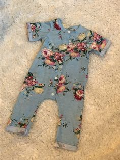 A personal favorite from my Etsy shop https://www.etsy.com/listing/510355108/baby-girl-one-piece-outfitbaby-cotton