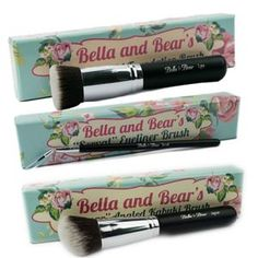 Bella and Bear is where beauty wins. Offering the best in fashionable beauty tools and beauty tips for every woman. Day Glow, Mineral Powder, Synthetic Hair, Brush Set, Cruelty Free, Makeup Brushes, Beauty Hacks, Brush Holders, Products
