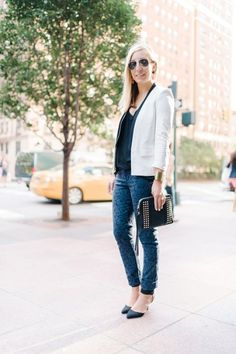 Fall Denim Trends With NYDJ + A Contest   theglitterguide.com  anther great look