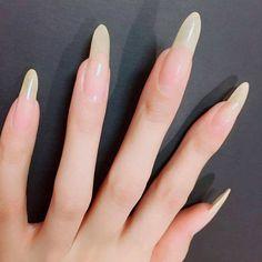 Check it out. Bride Nails, Wedding Nails, Vampire Nails, Long Natural Nails, Shoe Nails, How To Grow Nails, Formal Nails, Cute Nail Art, Classy Nails