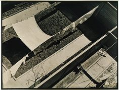 "Paul Strand: Geometric Backyards, New York  1917. Said the sculptor Archipenko, ""New York is a visible abstraction."""