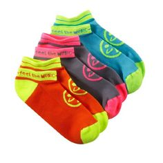 Need some socks for your Zumba shoes? Well take a look at these bright and colourful Zumba socks that will not only keep you comfortable but also stop your Zumba shoes from stinking.