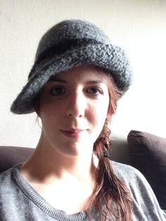 Made by me - knit and felt '20 cloche hat