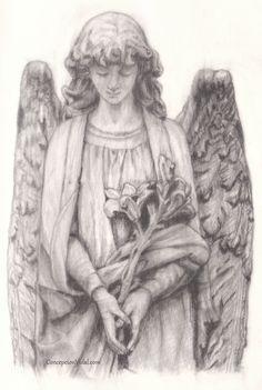Special friends <3 Angel. Pencil drawing. Dibujo a lápiz.