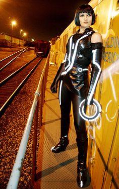 Tron Legacy - Quorra by Annissë, via Flickr