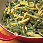 Garlic Green Beans Recipe   MyRecipes.com