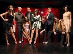 Cast of Firefly in civilian clothes. Beaut