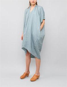 Visvim Ruana Dress - Pl Indigo
