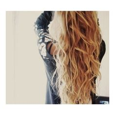 How to Get Perfect Beach Curls ❤ liked on Polyvore featuring beauty products, haircare, hair styling tools, hair, hairstyles, hair styles, pictures, beauty and backgrounds