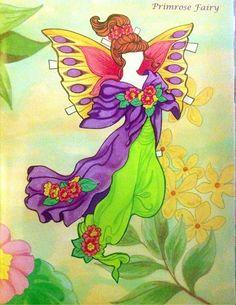 Fairy Paper Doll By Eileen Rudisill Miller: Primrose Fairy