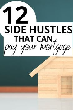 Get ideas for side hustles that can easily pay your monthly mortgage payment! Earn extra income from home or by setting your own hours! Mortgage Tips, Mortgage Payment, Legitimate Work From Home, Work From Home Jobs, Earn Money From Home, Make More Money, Investing For Retirement, Earn Extra Income, Living On A Budget
