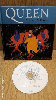 QUEEN. A KING OF MAGIC. LIBRO-CD / EMI - 2008. 12 TEMAS / BUENA CALIDAD.