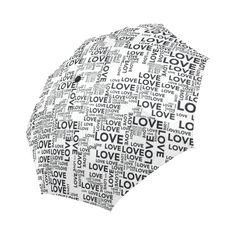 Love Words Auto-Foldable Umbrella Love Words, Umbrellas, Model, Words Of Love, Scale Model, Models, Template, Pattern