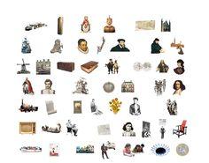Geschiedeniscanon van Nederland. Als je op een plaatje klikt, krijg je extra informatie. o.a. voorleesboeken.