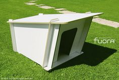 Italian outdoor company Fuora, is launching DogHouse a modern and stylish dog kennel which requires no maintenance at all. DogHouse is a high quality and h