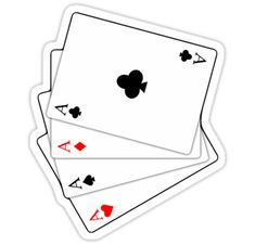 """""""Playing cards """" Stickers by AdiDsgn 