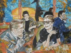 Mood of Saturday night by Agnes Varnagy Gallery