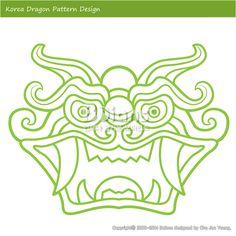 한국의 용 문양 패턴디자인. 한국 전통문양 패턴 디자인 시리즈. (BPTD010023) Korea Dragon Pattern Design. Korean traditional Pattern Design Series. Copyrightⓒ2000-2014 Boians.com designed by Cho Joo Young.