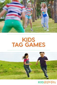 A collection of fun tag games for kids. Great for gym class, the playground, or the front yard. Outdoor Games For Kids, Fun Games For Kids, Games For Toddlers, Indoor Activities For Kids, Infant Activities, Summer Party Games, Church Games, The Game Is Over, Classroom Community