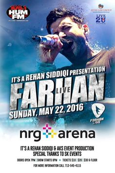 Farhan Akhtar Live in Concert in Nrg Arena, Houston, TX | Indian Event