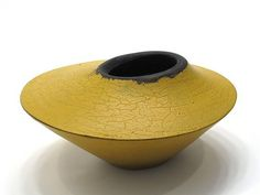 Painted Hollow form by Ben Grant. #plocomiYellow