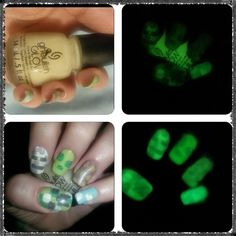 china glaze ghoulish glow China Glaze, Swatch, Glow, Nail Polish, Nail Art, Halloween, Nails, Finger Nails, Ongles