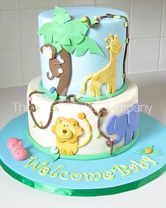 dirtbin designs: My top 10 Baby shower cakes for an expecting baby boy xxx - Baby Shower Ideas