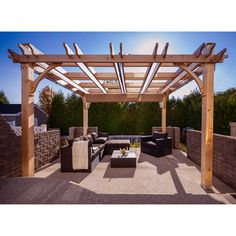 Breeze Pergola with Retractable Canopy