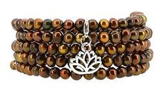Dyed Brown Freshwater Cultured Pearls Wrap Bracelet with a Removable Charm -- Be sure to check out this awesome product.