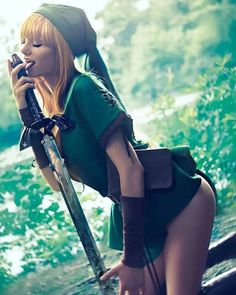 Rule 63 Link Cosplay by Kassandra Leigh Purcell Cosplay Lindo, Cute Cosplay, Cosplay Outfits, Best Cosplay, Cosplay Girls, Link Cosplay, Cosplay Anime, Mean Girls, Toddler Girls