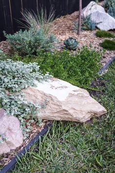 My Backyard Makeover — Adore Home Magazine Landscaping Supplies, Backyard Landscaping, Backyard Ideas, Backyard Seating, Landscaping Ideas, Garden Edging, Garden Beds, Back Gardens, Outdoor Gardens