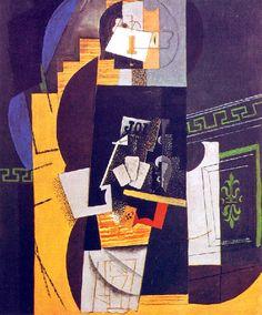Picasso: Le joueur de cartes (1914)