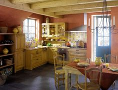 tiny French Country Kitchen | Kitchens Look of Elegance, Moderate French Country Kitchens For Small ...
