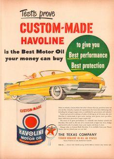 1950 Havoline Motor Oil Advertisement Life Magazine March 27 1950 | 1950 Havoline Motor Oil Advertisement Life Magazine March 27 1950