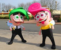 Cosmo & Wanda im MOVIE PARK GERMANY