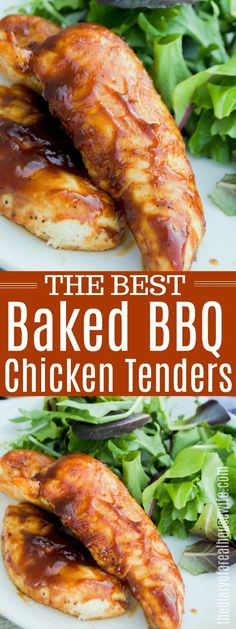 Bbq Chicken Tenders Baked, Chicken Tenderloins In Oven, Baked Barbeque Chicken, Baked Chicken Strips, Easy Bbq Chicken, Chicken Strip Recipes, Baked Chicken Breast, Baked Chicken Recipes, Recipes With Chicken Tenders